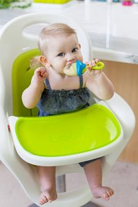 Tips for teething babies | Soothe Swollen Gums with Frozen Fruit