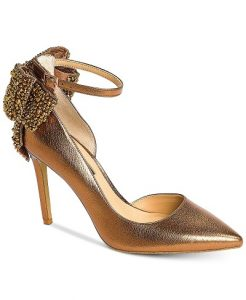 Gold Shoes for Fall Wedding