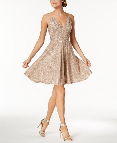 Calvin Klein Dress for a Fall Wedding