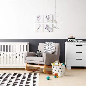 Nursery Themes   Black and White Nursery   Target nursery