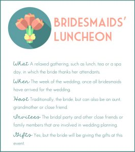 ultimate guide to the Bridesmaids' Luncheon