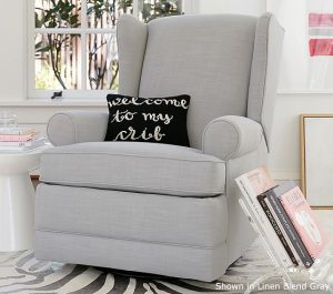 Wingback Glider and Recliner