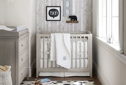 Baby Trends | Unisex Nursery | pottery barn nursery