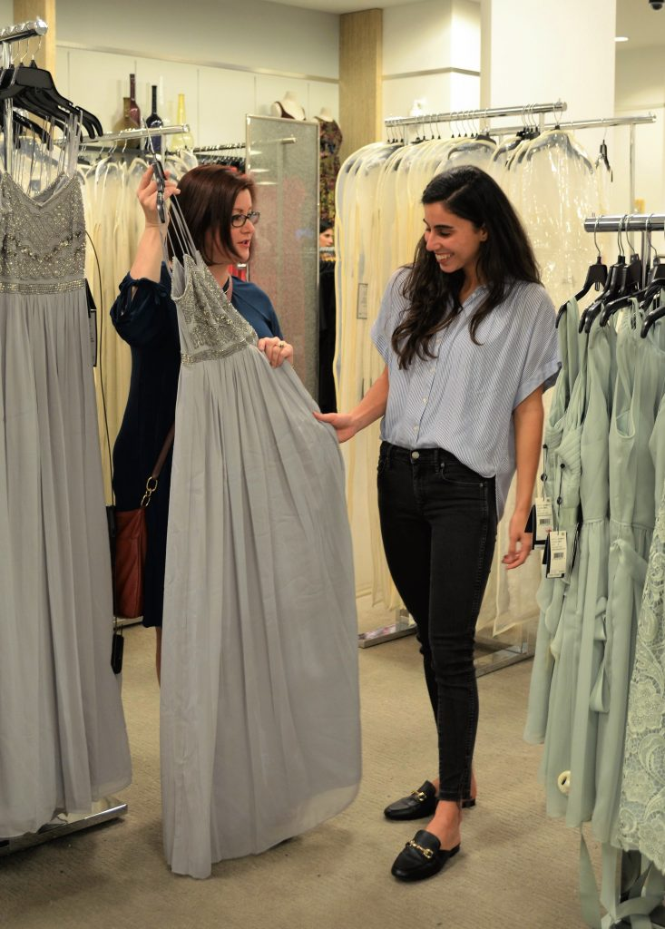 Selecting Bridesmaid Dresses with a Macy's Personal Shopper