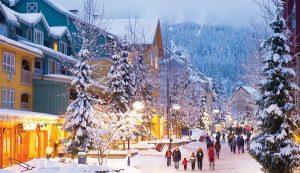 Winter Honeymoon Destinations | Whistler Village, Vancouver, BC