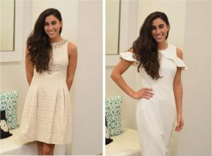 White Dresses Selected by a Personal Shopper at Macy's