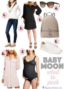 What to Pack for your Babymoon | Best Maternity Buys