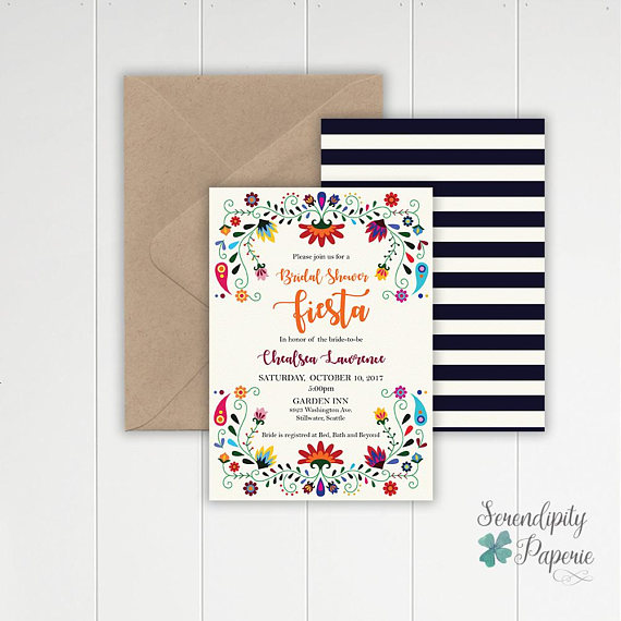 Honeymoon Bridal Shower | Invitations