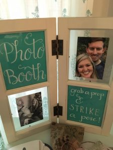 Travel-Themed Shower Photo Booth | Prop Ideas