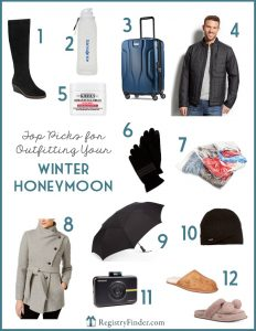 Tops Picks for Outfitting your Winter Honeymoon