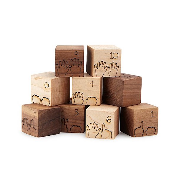 Gifts for One Year Old | Counting Blocks