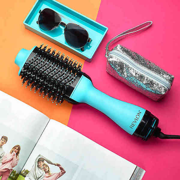 Great Gifts for College Students | Revlon One step hairdryer and brush