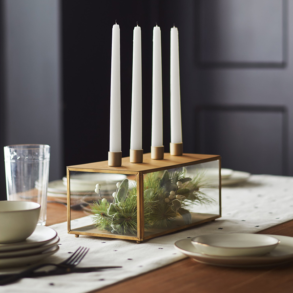 Hearth & Hand™ with Magnolia Brass Candle Holder