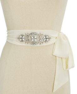 INC embellished wide bridal belt | Bridal belts from Macy's