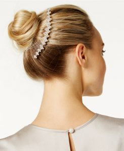 Josette rhinestone French twist comb from Macy's | Bridal Head pieces from Macy's