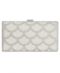 INC Kelli Pearl Clutch from Macy's