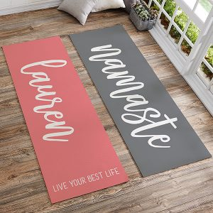 Great Gifts for College Students | Personalized Yoga Mat
