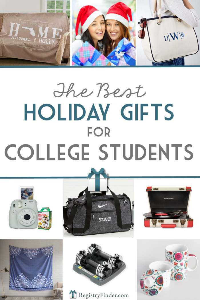 Holiday Gifts for College Students