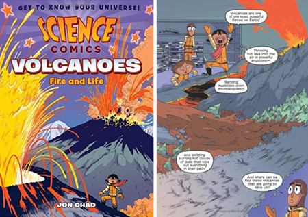 Science Comics Book Series: Volcanoes | Great STEM Gifts for Kids