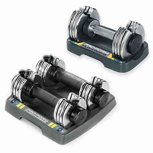Great Gifts for College Students | ProForm Select-a-wait dumbells
