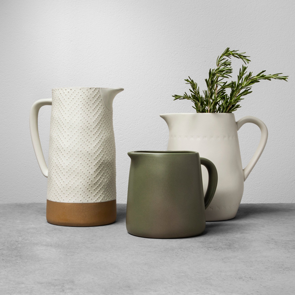 Hearth & Hand™ with Magnolia Stoneware Pitchers