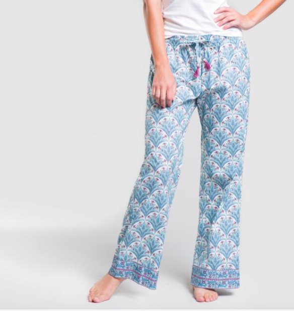 Great Gifts for College Students | World Market Art Deco pajama pants