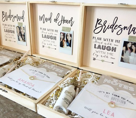 Bridesmaid Gift Box 1 Registryfinder Com