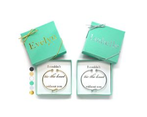 Fun Ways to Ask Your Bridesmaid with Jewelry | Tie the Knot Bracelet