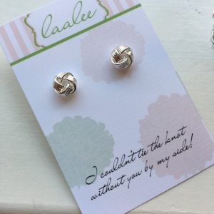 Cute Ways to Ask Your Bridesmaids | Tie the Knot Earrings