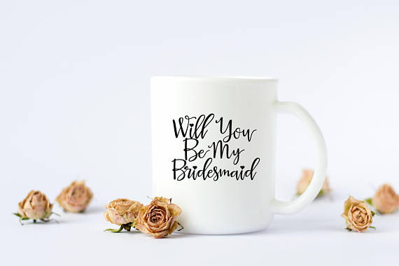 Best Ways to Ask Your Bridesmaids | Bridesmaid Mugs