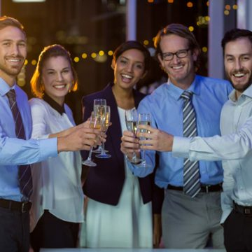 Too Late to Celebrate Coworker's Wedding?""