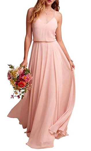 Affordable Chiffon Bridesmaid Dresses from Amazon