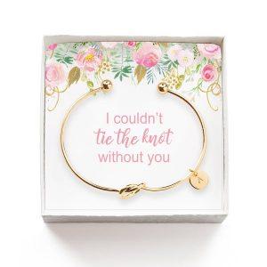 Personalized Knot Bracelet