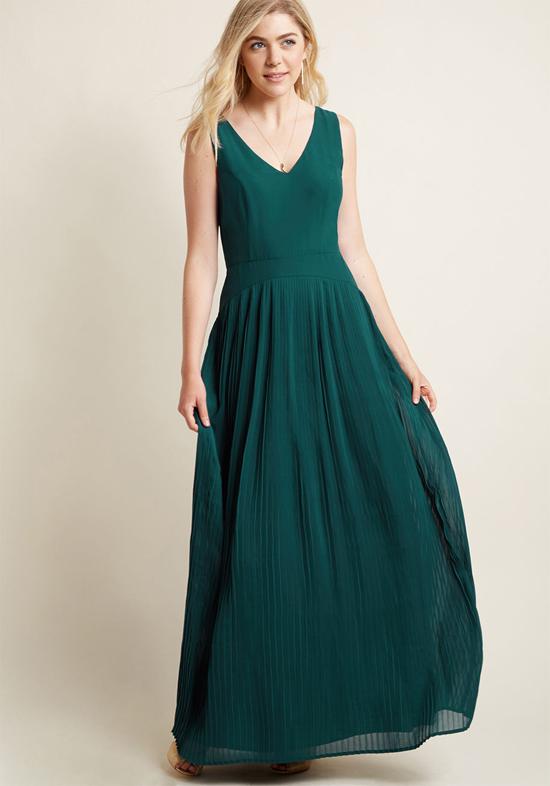 Inexpensive Bridesmaid Maxi Dress from Modcloth   Dropwaist Maxi Dress