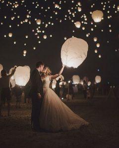 Unique Wedding Send-offs | Wish Lanterns