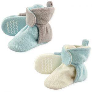 Winter Baby Essentials | Fleece Booties