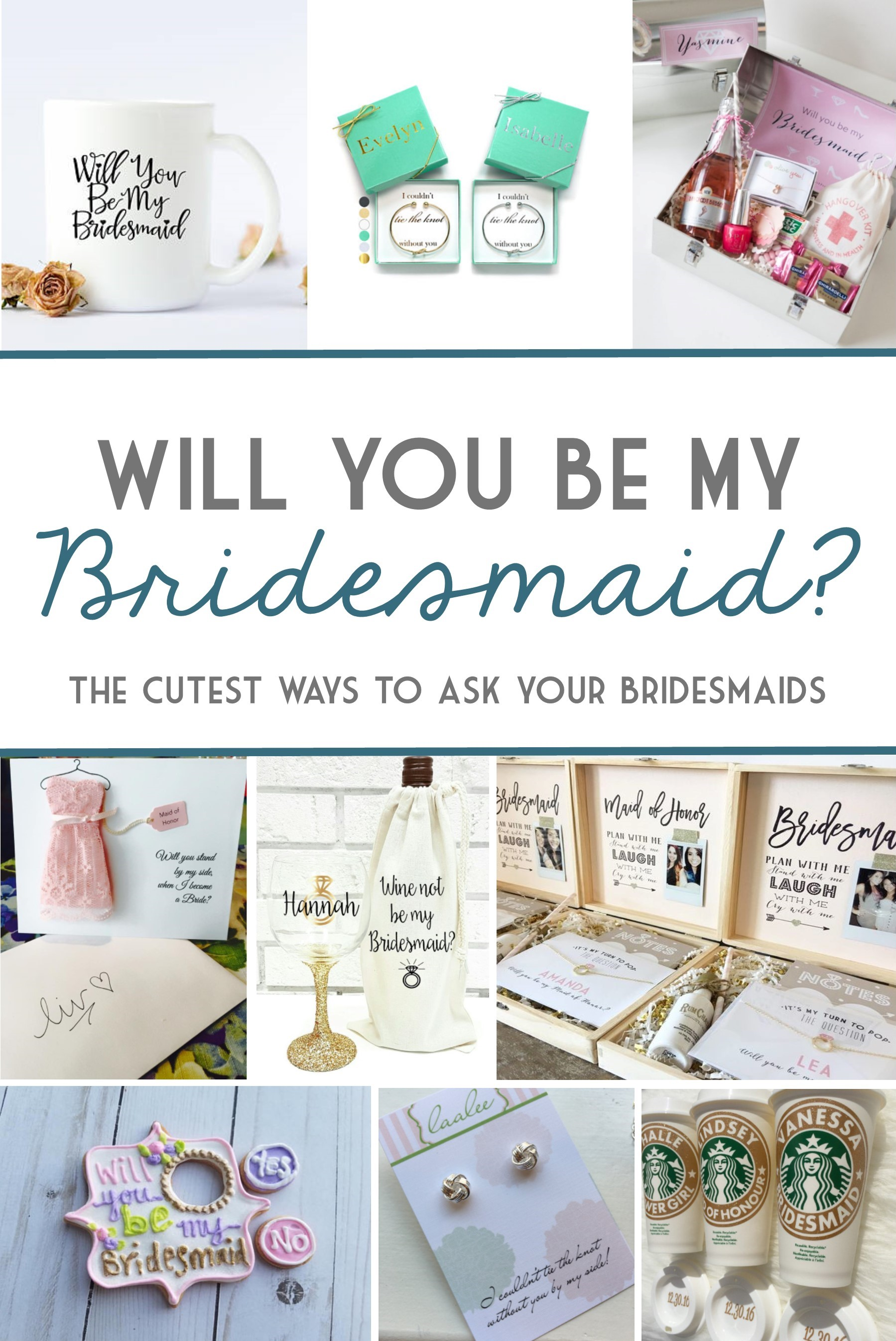 The Cutest Ways To Ask Your Bridesmaids To Be In Your Wedding