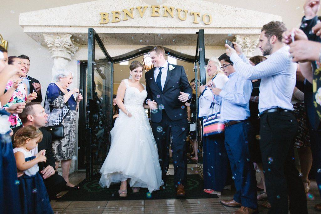 Alternative Wedding Send-offs | Bubbles