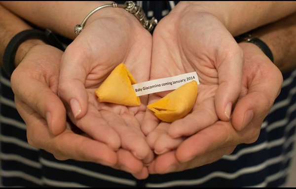 Fortune Cookie Pregnancy Announcement