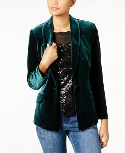 Winter Wedding Accessories | Velvet Blazer