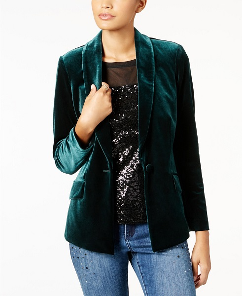 Winter Wedding Accessories | Velvet Blazer