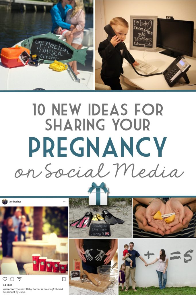 10 New Ideas for Sharing Your Pregnancy on Social Media