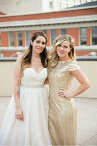 Inexpensive Sequined Bridesmaid Dresses from Etsy