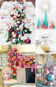 Stock the Tree Bridal Shower Décor, Food, and Favors
