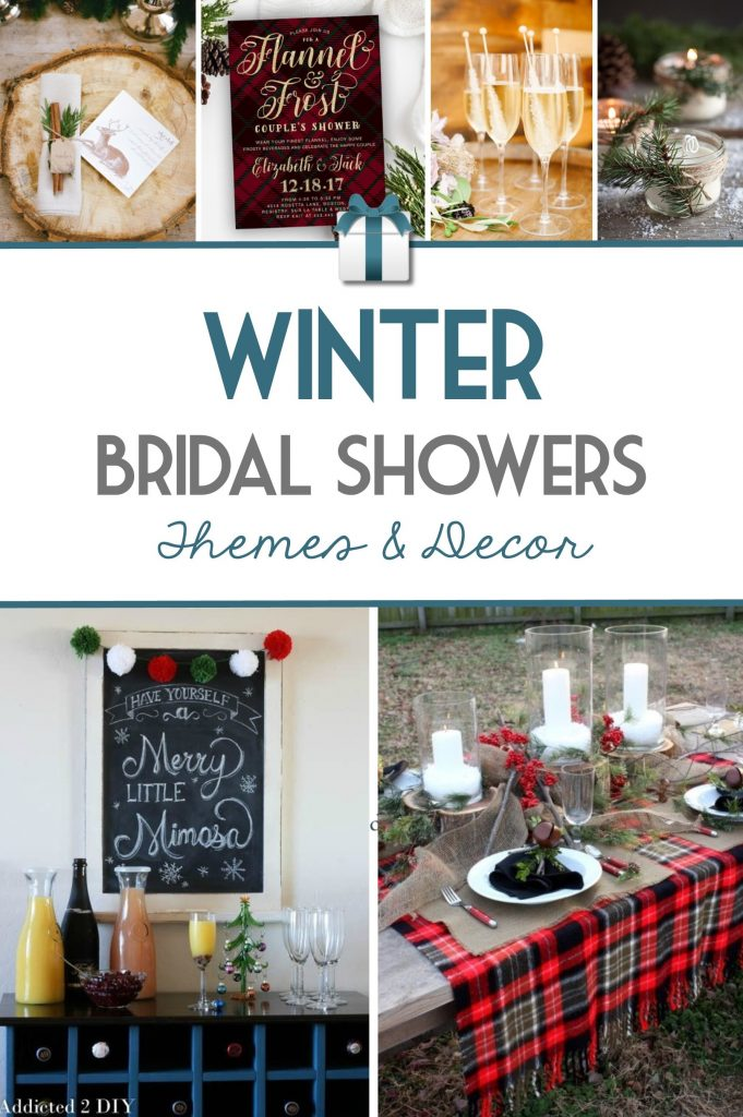 Winter Bridal Shower Themes and Ideas