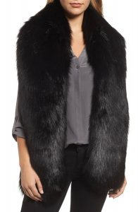 faux fox fur