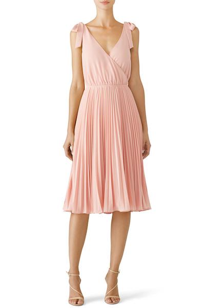 Affordable Bridesmaid Dresses | Blush Left Bank Dress by Ali + Jay