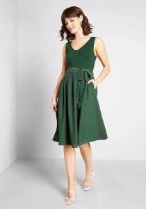 Affordable Bridesmaid Dresses | Polished Influencer Two-fer Dress