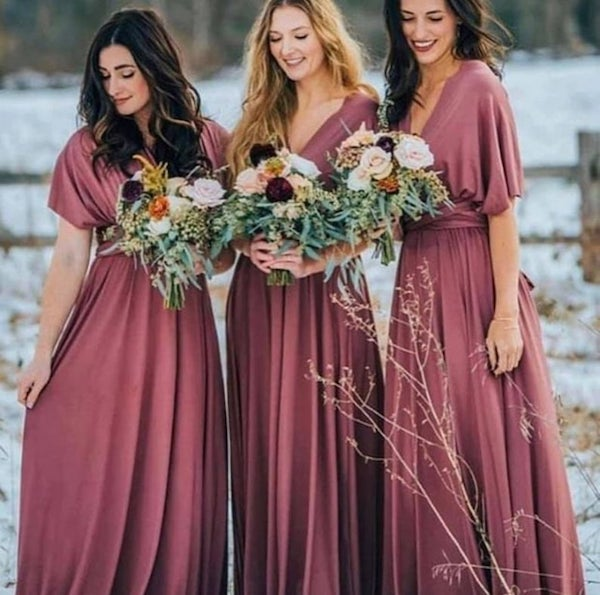Affordable Bridesmaid Dresses | Rosewood Convertible Bridesmaid Dress