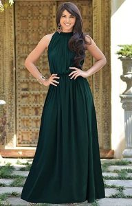 Affordable Bridesmaid Dresses   Sexy Sleeveless Summer Gown
